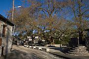 Greece, Epirus, Zagoria Vitsa Village The square at the town centre