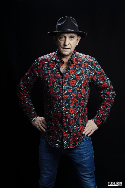 Warszawa, Polska; 21.11.2018  Janusz Chabior - aktor.<br /> Fot. Adam Tuchlinski dla Playboy
