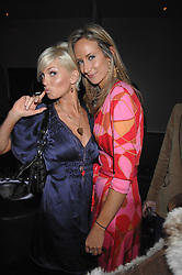 Left to right, singer SARAH HARDING and LADY VICTORIA HERVEY at the grand opening of the Amika nightclub, 65 High Street Kensington, London on 28th February 2007.<br />