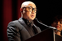 Zheng Xu at the Pierre Angénieux ExcelLens in Cinematography, Tribute to Edward Lachman at the 71st Cannes Film Festival, Friday 18th May 2018, Cannes, France. Photo credit: Doreen Kennedy