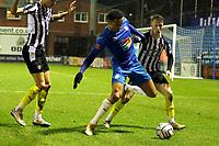 Alex Reid. Stockport County FC 0-0 Notts County FC. Vanarama National League. Edgeley Park. 23.2.21