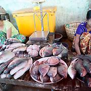 NYAUNG-U, Myanmar - at Nyaung-U Market, near Bagan, Myanmar (Burma).