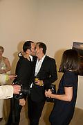 TOM FORD; MARIO TESTINO, Mario Testino: Obsessed by You -  private view<br />Phillips de Pury & Company, Howick Place, London, SW1, 2 July 2008 *** Local Caption *** -DO NOT ARCHIVE-© Copyright Photograph by Dafydd Jones. 248 Clapham Rd. London SW9 0PZ. Tel 0207 820 0771. www.dafjones.com.