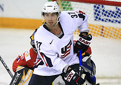 Mark Burish (37) of USA at ice-hockey game Norway vs USA at Qualifying round Group F of IIHF WC 2008 in Halifax, on May 12, 2008 in Metro Center, Halifax, Nova Scotia, Canada. USA won 11:1. (Photo by Vid Ponikvar / Sportal Images)