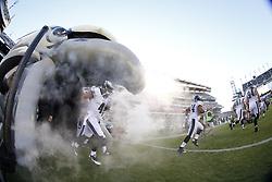 Philadelphia Eagles quarterback G.J. Kinne #4 and the Philadelphia Eagles enter the field before for the Baltimore Ravens v Philadelphia Eagles NFL Preseason game at Lincoln Financial Field in Philadelphia on Saturday, August 22nd 2015. The Eagles won 40-17. (Brian Garfinkel/Philadelphia Eagles)