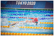 Duncan Scott during the Men's 200m Individual Medley finals. Scott made history after winning four medals, one gold & three silver - more than any other British athlete at a single Olympic Games, in Tokyo 2020.