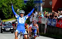 NM Sykkel Bergen<br /> 28 . Juni 2008<br /> Kvinner Senior <br /> Fellesstart 76 km<br /> Anita Valen-De Vries , Team Flexpoint / Grenland SK vant fellesstarten<br /> Foto : Astrid M. Nordhaug