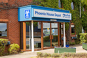 Phoenix House Depot, transport and highways, Suffolk County Council, Ipswich, England