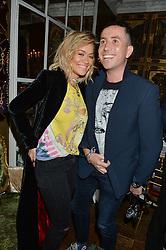 RITA ORA and NICK GRIMSHAW at a dinner for JF London x Kyle DeVolle held at Beach Blanket Babylon, Ledbury Road, London on 29th September 2016.