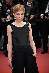 Clémence Poésy attending the premiere of the film Blackkklansman during the 71st Cannes Film Festival in Cannes, France on May 14, 2018. Photo by Julien Zannoni/APS-Medias/ABACAPRESS.COM