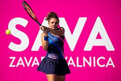 PORTOROZ, SLOVENIA - SEPTEMBER 18: Jasmine Paolini of Italy competes during the Semifinals of WTA 250 Zavarovalnica Sava Portoroz at SRC Marina, on September 18, 2021 in Portoroz / Portorose, Slovenia. Photo by Matic Klansek Velej / Sportida