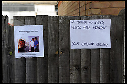 June 15, 2017 - London, London, United Kingdom - Image ©Licensed to i-Images Picture Agency. 15/06/2017. London, United Kingdom. Grenfell Tower  fire. ..Residents sign a wall near the remains of Grenfell Tower fire in West London. ..Picture by Gustavo Valiente / i-Images (Credit Image: © Gustavo Valiente/i-Images via ZUMA Press)
