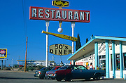 Peggy Sue's 1950s diner Yermo, California, USA opened in 1954