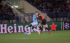Shakhtar vs. Manchester City - 23 Oct 2018