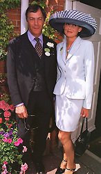 MR & MRS HENRY CECIL he is the leading trainer, at Royal Ascot on 16th June 1999.MTH 48