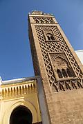 Dar El Makhzen Mosque in Old Medina, Casablanca, Morocco.