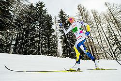 February 3, 2018 - Goms, SWITZERLAND - 180203 Frida Karlsson of Sweden competes in the women's 4x3,3 km relay during the FIS Nordic Junior World Ski Championships on February 3, 2018 in Obergoms..Photo: Vegard Wivestad GrÂ¿tt / BILDBYRN / kod VG / 170098 (Credit Image: © Vegard Wivestad Gr¯Tt/Bildbyran via ZUMA Press)