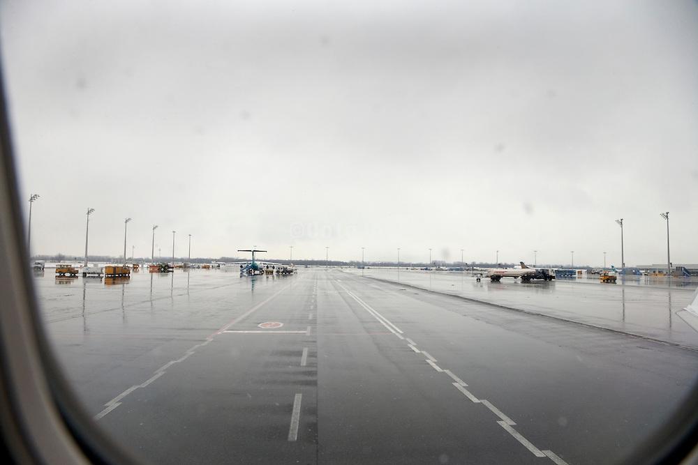 wet tarmac at Munich airport