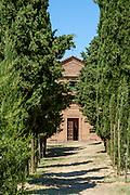The monastery of Sant'Anna, Pienza, Tuscany, Italy