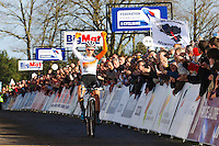 Joie Pauline FERRAND PREVOT  - 11.01.2015 - Cyclo cross - Championnats de France Femmes - Pontchateau<br /> Photo : Vincent Michel / Icon Sport