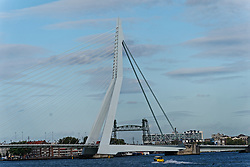 """12-09-2019 NED: Kick-off European Volleyball Men's Championship, Rotterdam<br /> Kick-off for the European Volleyball Men's Championship at the Sailing Ship """"Eendracht"""" with The CEV board, municipal officials of the playing cities, Nevobo and Topsport Rotterdam / Skyline Rotterdam"""