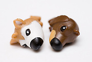 Puppy Love - Fatigued a conceptual image of two toy dogs in an intimate relationship