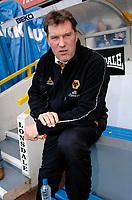 Photo: Daniel Hambury.<br />Millwall FC v Wolverhampton Wanderers. Coca Cola Championship. 21/01/2006.<br />Wolves' manager Glenn Hoddle.