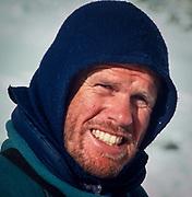 Peter Hillary, Everest base camp, Khumbu Himal, Nepal Himalaya