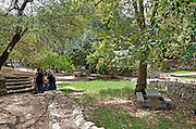 Israel, Jerusalem Mountains, Ein Hemed National Park (AKA Aqua Bella) The farming area