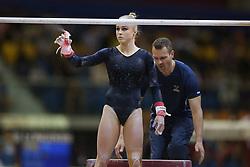 November 2, 2018 - Doha, QATAR - 181102 Jonna Adlerteg of Sweden during the finals of the WomenÂ«s Uneven Bars competition in the Artistic Gymnastics World Championships on November 2, 2018 in Doha  (Credit Image: © Thomas Schreyer/Bildbyran via ZUMA Press)