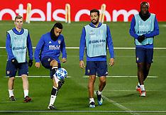 Valencia Training - Old Trafford - 01 October 2018