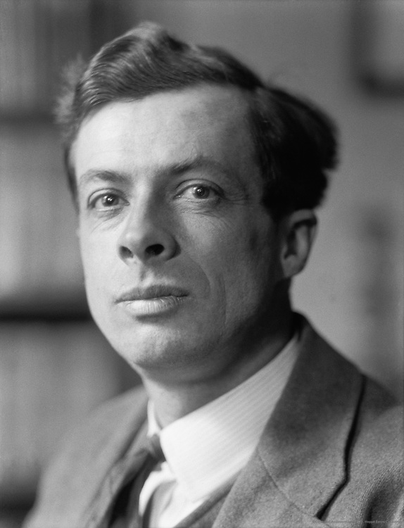 Sir Julian Huxley, English Author and Biologist, 1925