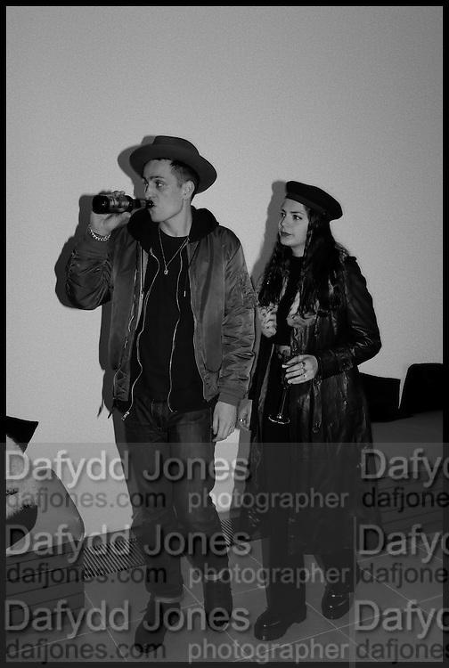 LOUIS SIMONON; CAROLINE SHARP, Julia Peyton-Jones, Hans Ulrich Obrist and Coach host the Serpentine Future Contemporaries Party. Serpentine Sackler Gallery. Kensington Gdns. London. 21 February 2015
