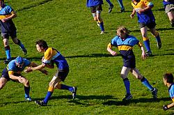 Rugby é o esporte mais praticado e que atrai mais público em toda a Nova Zelândia. O esporte lembra o futebol americano, contudo sem equipamentos de proteção. FOTO: Lucas Uebel/Preview.com