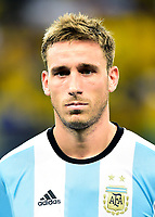 Conmebol - World Cup Fifa Russia 2018 Qualifier / <br /> Argentina National Team - Preview Set - <br /> Lucas Rodrigo Biglia