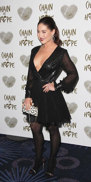 Louise Thompson, Chain of Hope Annual Ball 2014, Grosvenor House, London UK, 21 November 2014, Photo By Brett D. Cove