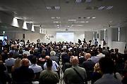 Inaugurazione del termovalorizzatore del Gerbido a Torino. Presenti all'incontro molte personalità politiche locali e nazionali e i dirigenti TRM. Cliente TRM.