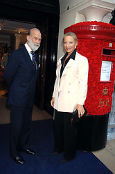 PRINCE & PRINCESS MICHAEL OF KENT at the Sotheby's Summer Party 2007 at their showrooms in New Bond Street, London on 4th June 2007.<br /><br />NON EXCLUSIVE - WORLD RIGHTS