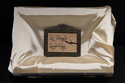 Italy, Vinci (Tuscany) - May 2, 2019.Belived Leonardo da Vinci's hairs, found in a collection in the US exposed at the Museo Ideale Leonardo da Vinci (Museum of Ideas of Leonardo da Vinci) at Leonardo da Vinci's hometown. Italian experts are set to do a DNA test (Credit Image: © Ropi via ZUMA Press)