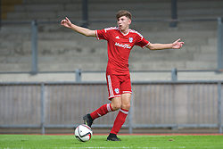 NEWPORT, WALES - Wednesday, August 3, 2016: South Wales Academy Boys' Scott Howell during the Welsh Football Trust Cymru Cup 2016 at Newport Stadium. (Pic by Ian Cook/Propaganda)