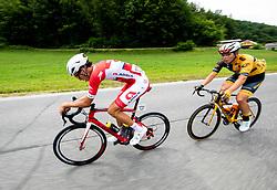 Aljaz Jarc (SLO) of Adria Mobil during 1st Stage of 26th Tour of Slovenia 2019 cycling race between Ljubljana and Rogaska Slatina (171 km), on June 19, 2019 in  Slovenia. Photo by Vid Ponikvar / Sportida
