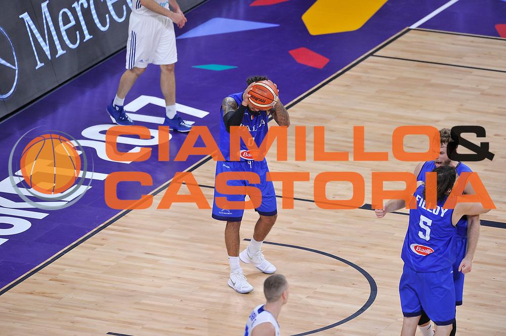 Daniel Hackett<br /> Nazionale Italiana Maschile Senior<br /> Eurobasket 2017 - Final Phase - Round of 16<br /> Finlandia Italia Finland Italy<br /> FIP 2017<br /> Istanbul, 09/09/2017<br /> Foto GiulioCiamillo / Ciamillo - Castoria