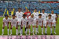 Mexico DF. 20 de October of 2007. Azul Stadium. Cruz Azul vs Jaguares on date 13 of the  aperture tournament of the Mexican Football.<br />  The Jaguares Team.<br /> <br /> ©PikoPress