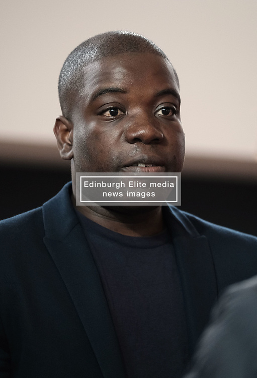 Kweku Adoboli Facing Deportation, Friday 12th October 2018<br /> <br /> Former trader Kweku Adoboli is facing deportation to Ghana having previously been jailed for illegal trading. Local MP Hannah Bardell spoke with Mr Adoboli today after politicians signed a cross-party letter to the Home Secretary imploring him to stop the deporatition.<br /> <br /> Pictured: Kweku Adoboli<br /> <br /> Alex Todd | Edinburgh Elite media