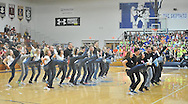 The Midview Skippers perform at halftime of the Avon at Midview boys varsity basketball on January 11, 2013. Images © David Richard and may not be copied, posted, published or printed without permission.
