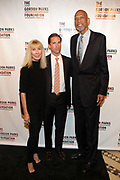 NEW YORK, NEW YORK-JUNE 4: (L-R) Diana Revson, Board member, Gordon Parks Foundation, Peter Kundhardt, Jr., Executive Director, Gordon Parks Foundation and  Kareem Abdul Jabbar (Honoree) attends the 2019 Gordon Parks Foundation Awards Dinner and Auction Red Carpet celebrating the Arts & Social Justice held at Cipriani 42nd Street on June 4, 2019 in New York City.  (photo by terrence jennings/terrencejennings.com)