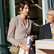 NLD/Staverden/20121004- Huwelijk schaatsster Marianne Timmer met voetbalkeeper Henk Timmer, schaatster Margot Boer