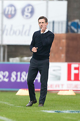 Dundee's manager Neil McCann. Dundee 1 v 1 Ross County, SPFL Ladbrokes Premiership played 13/5/2017 at Dens Park.