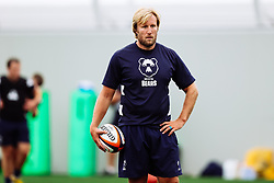 Jordan Crane (Academy Transition Coach) looks on as Bristol Bears start to use their new almost completed Training centre - Rogan/JMP - 08/07/2020 - RUGBY UNION - Beggar Bush Lane - Bristol, England.