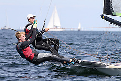 , Kiel - Kieler Woche 17. - 25.06.2017, 49er - DEN 28 - Michael HANSEN - Mathias SLETTEN - Fredericia Sejlklub